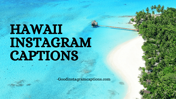 28+ Wonderful Hawaii Instagram Captions