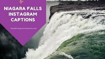 24 Appealing Niagara Falls Instagram Captions