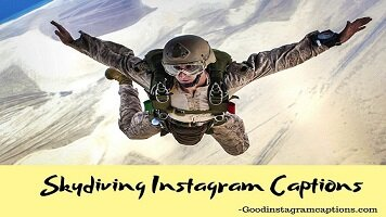 45+ Skydiving Instagram Captions That You Will Need